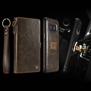 Θήκη Za Samsung Galaxy S8 Plus Novčanik / Utor za kartice / Otporno na trešnju Korice Jednobojni Tvrdo PU koža