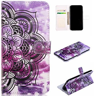 Θήκη Za Apple iPhone XS / iPhone XR / iPhone XS Max Novčanik / Utor za kartice / sa stalkom Korice Mandala / Cvijet Tvrdo PU koža
