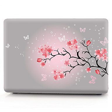 super popular 79ae7 e6e1d [$16.99] MacBook Case Flower PVC(PolyVinyl Chloride) for Macbook Pro  13-inch / MacBook Pro 15-inch with Retina display / New MacBook Air 13