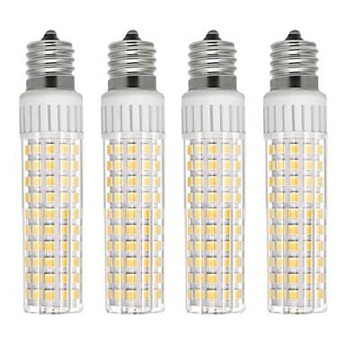 4kom 8.5 W LED klipaste žarulje 1105 lm E17 T 125 LED zrnca SMD 2835 Zatamnjen Toplo bijelo Hladno bijelo 110 V