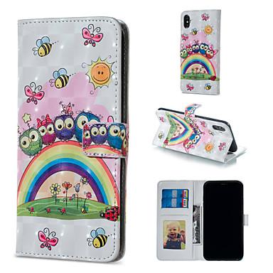 Θήκη Za Apple iPhone XS / iPhone XR / iPhone XS Max Novčanik / Utor za kartice / sa stalkom Korice Životinja / Sova Tvrdo PU koža