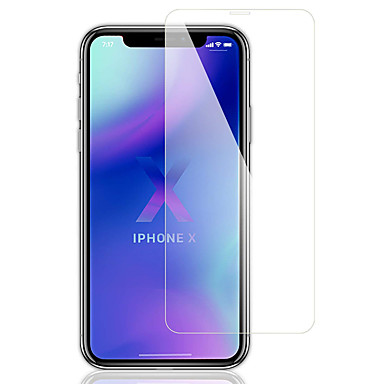 voordelige iPhone screenprotectors -AppleScreen ProtectoriPhone XS High-Definition (HD) Voorkant screenprotector 1 stuks Gehard Glas