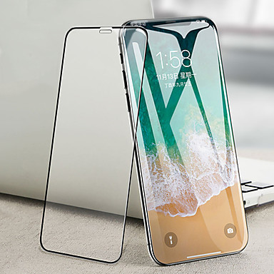AppleScreen ProtectoriPhone XS High-Definition (HD) Voorkant screenprotector 1 stuks Gehard Glas