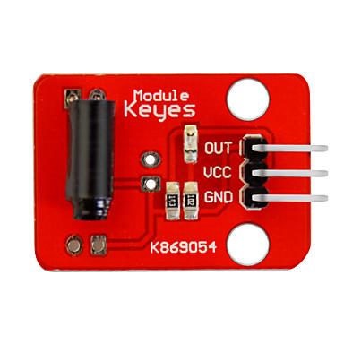 olcso Modulok-virbrációs kapcsoló modul (piros) pin fejlécek