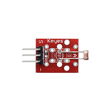 olcso Modulok-fénykép ellenállás modul (piros) pin fejlécek