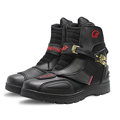 voordelige Beschermende uitrusting-paardrijden stam a014 motorlaarzen off-road racing enkel moto schoenen straat rijden schoen beschermend toestel unisex rubber / eva hars / poly urethaan pro / anti slip / bescherming / kleverig / slij