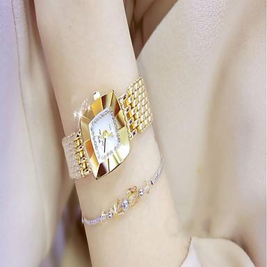 Žene Sat uz haljinu Zlatni sat Kvarc Srebro / Zlatna Casual sat Analog dame Moda Minimalistički - Zlato Pink