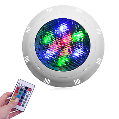 1pc 9 W / 12 W Podvodna svjetla Vodootporno RGB 12 V / 24 V Vanjska rasvjeta / Bazen 9/12 LED zrnca