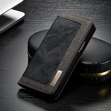 Θήκη Za Samsung Galaxy S9 Plus Novčanik / Utor za kartice / sa stalkom Korice Jednobojni Tvrdo Tekstil