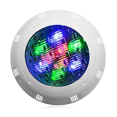 olcso Kültéri lámpa és gyertyatartók-1db 9 W Vízalatti világítás Vízálló Hideg fehér / RGB / Fehér 12 V Kültéri világítás / Úszómedence 9 LED gyöngyök