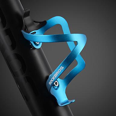ROCKBROS Bicikl Boca vode Cage Prijenosno Mala težina Izdržljivost Jednostavna primjena Za Biciklizam Cestovni bicikl Mountain Bike Aluminijska legura Pink Crvena Plava