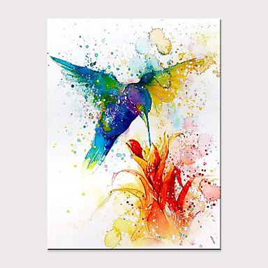 Hang oslikana uljanim bojama Ručno oslikana - Sažetak Pop art Moderna Bez unutrašnje Frame