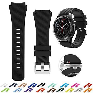 voordelige Smartwatch-accessoires-Horlogeband voor Huami Amazfit A1602 / Huami Amazfit A1607 Xiaomi Sportband / Klassieke gesp Silicone Polsband