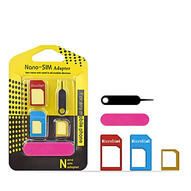 sim kartica adapter 5 u 1 nano mikro sim adaptera standardne sim kartice adapteri izbacivanje pin za iPhone samsung mobilni telefon