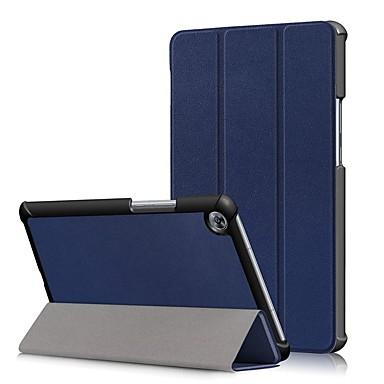 Θήκη Za Huawei MediaPad M5 8 Protiv prašine / Zaokret Korice Jednobojni Tvrdo PU koža