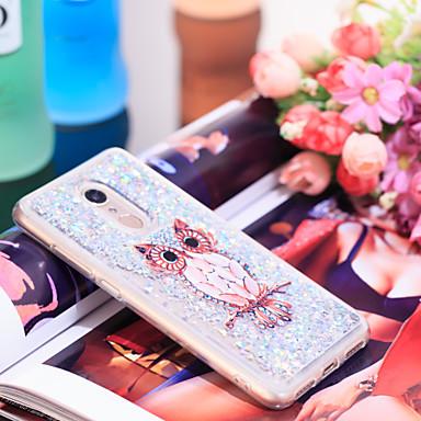 Θήκη Za Xiaomi Xiaomi Redmi 5 Otporno na trešnju / Šljokice Stražnja maska Sova / Šljokice Mekano TPU