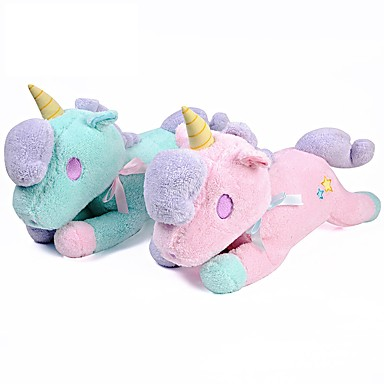 olcso Plüssjátékok-Unicorn Punjene i plišane igračke Imádni való kellemes Pamut / poliészter Összes Játékok Ajándék 3 pcs