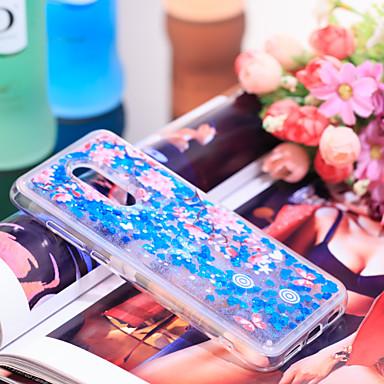 Θήκη Za Xiaomi Xiaomi Redmi 5 Plus Otporno na trešnju / Šljokice Stražnja maska Šljokice / Cvijet Mekano TPU