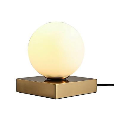 moderno svjetlo bijelo stolno svjetlo staklo stol svjetlo za unutarnje 60w
