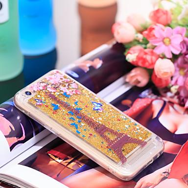 Θήκη Za Xiaomi Redmi 5A Otporno na trešnju / Šljokice Stražnja maska Eiffelov toranj / Šljokice Mekano TPU
