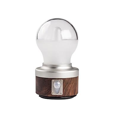 olcso Zseblámpák éslámpa túrázáshoz-Lámpások & Kempinglámpák 230 lm LED XP-G2 1 Sugárzók Automatikus 5 világítás mód USB-kábellel Hordozható Új design Kempingezés / Túrázás / Barlangászat Kávé
