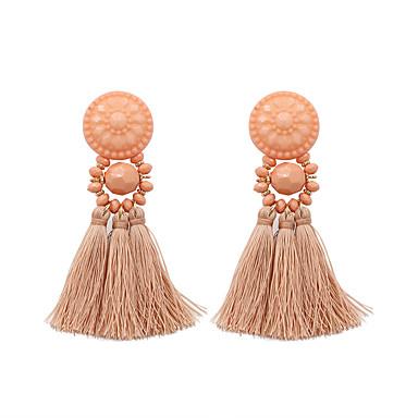 Žene Viseće naušnice Rese Naušnice Jewelry Obala / Light Pink / Bež / bijelo Za Dar Večer stranka 1 par