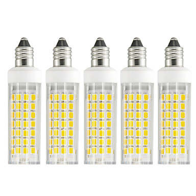 5pcs 6 W LED klipaste žarulje 630-750 lm E11 T 88 LED zrnca SMD 2835 Toplo bijelo Hladno bijelo 85-265 V