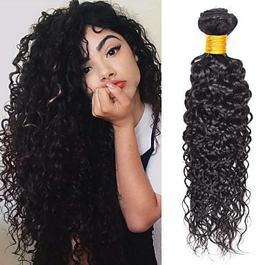 4 paketića Water Wave Virgin kosa Remy kosa Ljudske kose plete Styling kose Produžetak 8-28 inch Prirodna boja Isprepliće ljudske kose Odor Free Novi Dolazak Rasprodaja Proširenja ljudske kose