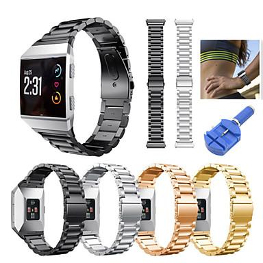 Pogledajte Band za Fitbit ionic Fitbit Sportski remen Nehrđajući čelik Traka za ruku