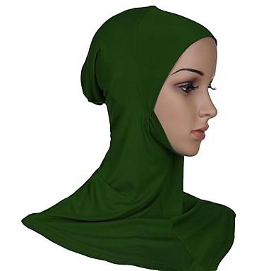 Žene Jednobojni Osnovni Mrežica, Poliester - Hijab / Sva doba