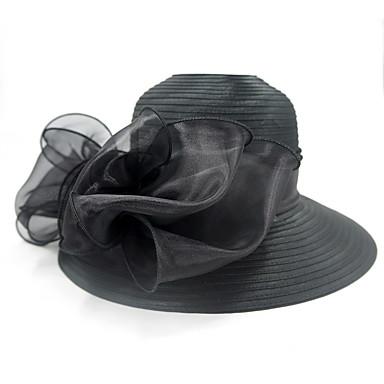 Elizabeta Čudesna gđa. Maisel Žene Odrasli dame Retro / vintage Cloche Hat Fascinator Hat šešir Crn Cvijet Til Šeširi Lolita Pribor