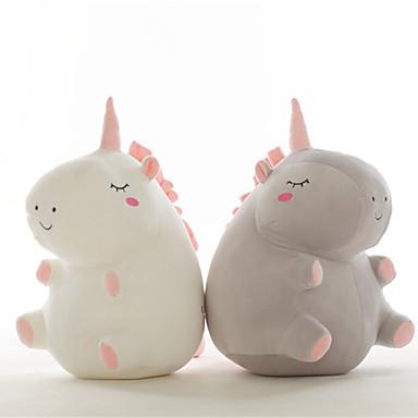 olcso Plüssjátékok-Unicorn Punjene i plišane igračke Szeretetreméltő Tökéletes kellemes Pamut / poliészter Összes Játékok Ajándék 3 pcs