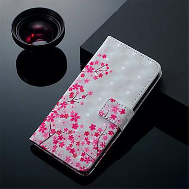 Θήκη Za Huawei Huawei P20 Pro / Huawei P20 lite / P10 Lite Novčanik / Utor za kartice / sa stalkom Korice Cvijet Tvrdo PU koža