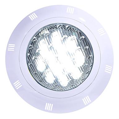 olcso Kültéri lámpa és gyertyatartók-1db 12 W Vízalatti világítás Vízálló Hideg fehér / RGB / Fehér 12 V / 24 V Kültéri világítás / Úszómedence 12 LED gyöngyök