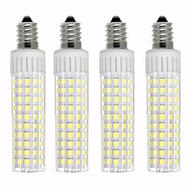 4kom 8.5 W LED klipaste žarulje 1105 lm E14 T 125 LED zrnca SMD 2835 Zatamnjen Toplo bijelo Hladno bijelo 220 V