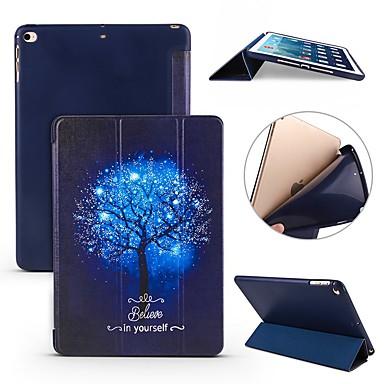 رخيصةأون أغطية أيباد-غطاء من أجل Apple iPad Air / iPad 4/3/2 / iPad Mini 3/2/1 ضد الصدمات / قلب / نحيف جداً غطاء كامل للجسم شجرة ناعم سيليكون