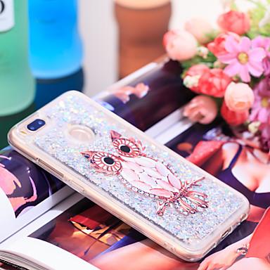 Θήκη Za Xiaomi Xiaomi Mi 5X Otporno na trešnju / Šljokice Stražnja maska Sova / Šljokice Mekano TPU