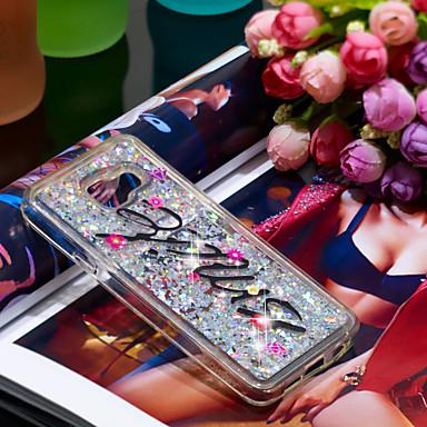 Θήκη Za Samsung Galaxy A3(2016) Otporno na trešnju / Šljokice Stražnja maska Šljokice Mekano TPU