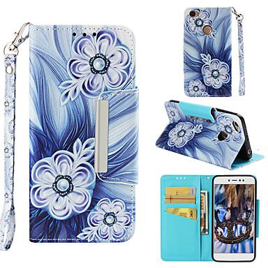 Θήκη Za Xiaomi Redmi Note 5A Novčanik / Utor za kartice / Zaokret Korice Cvijet Tvrdo PU koža