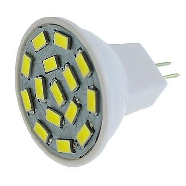 SENCART 6pcs 1 buc 6 W Spoturi LED 450 lm G4 MR11 MR11 15 LED-uri de margele SMD 5630 Decorativ Alb Cald Alb Albastru 12-24 V