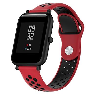 Pogledajte Band za Huami Amazfit Bip Younth Watch Xiaomi Sportski remen / Klasična kopča Silikon Traka za ruku