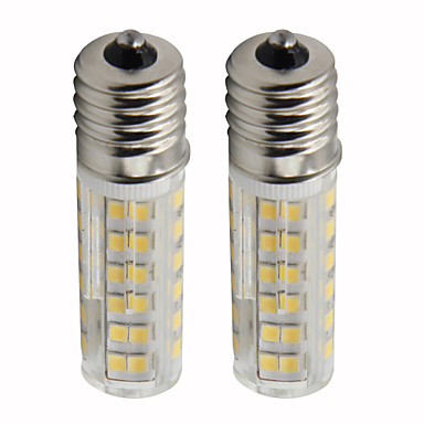 2pcs 4.5 W LED klipaste žarulje 450 lm E14 T 76 LED zrnca SMD 2835 Zatamnjen Toplo bijelo Hladno bijelo 110 V