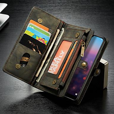 Θήκη Za Huawei MediaPad Huawei P20 lite Novčanik / Utor za kartice / sa stalkom Korice Jednobojni Tvrdo PU koža