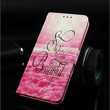 Θήκη Za Samsung Galaxy Note 9 / Note 8 Novčanik / Utor za kartice / sa stalkom Korice Krajolik Tvrdo PU koža za Note 9 / Note 8