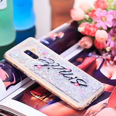 Θήκη Za Samsung Galaxy A8 2018 Otporno na trešnju / Šljokice Stražnja maska Šljokice Mekano TPU
