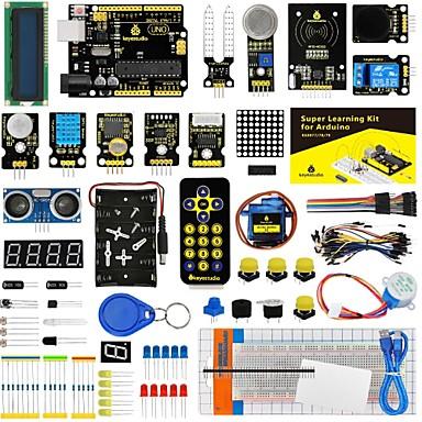 keyestudio super starter kit / kit za učenje (uno r3) za arduino starter kit s 32 projekta 1602 lcd