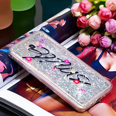 Θήκη Za Samsung Galaxy J7 Prime Otporno na trešnju / Šljokice Stražnja maska Šljokice Mekano TPU