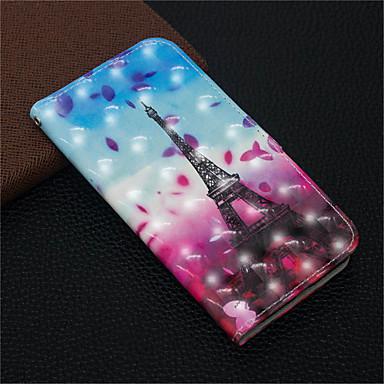 Θήκη Za Apple iPhone XS / iPhone XR / iPhone XS Max Novčanik / Utor za kartice / sa stalkom Korice Krajolik / Eiffelov toranj Tvrdo PU koža