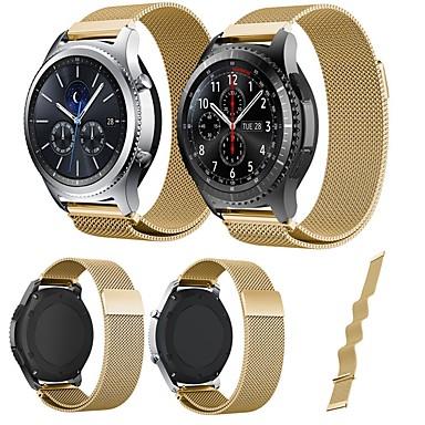 voordelige Smartwatch-accessoires-Horlogeband voor Gear Sport / Gear S2 Xiaomi Milanese lus Roestvrij staal Polsband