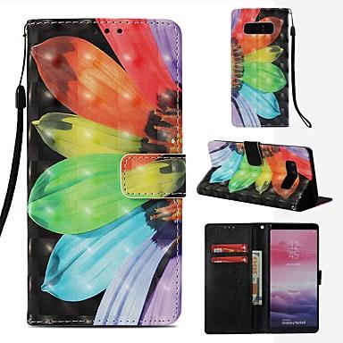 Θήκη Za Samsung Galaxy Note 8 Novčanik / Utor za kartice / Zaokret Korice Cvijet Tvrdo PU koža